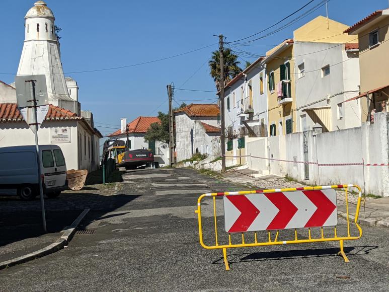 Rua de Nossa Senhora da Ajuda - Repavimentação