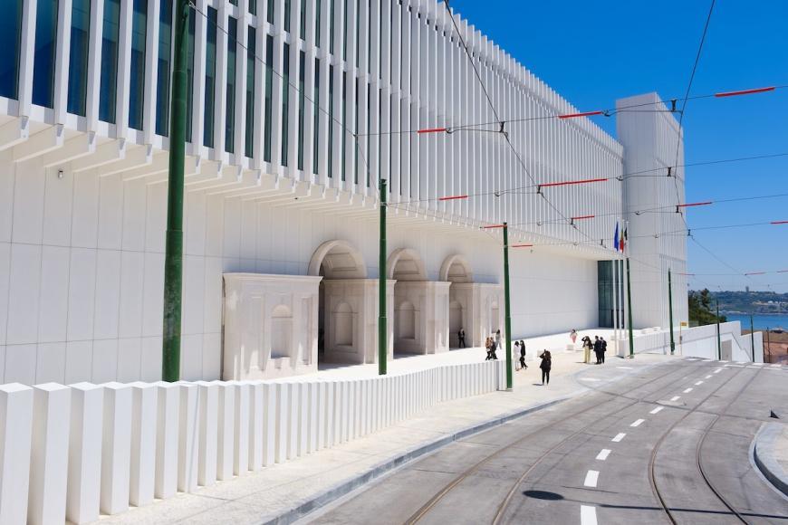 Palácio da Ajuda, terminado ao fim de mais de 200 anos.